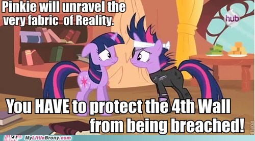 4th wall future twilight TV twilight sparkle warning - 5958153216