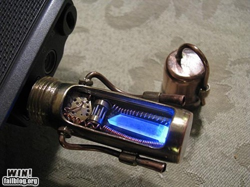 office swag Steampunk thumb drive USB - 5958255616