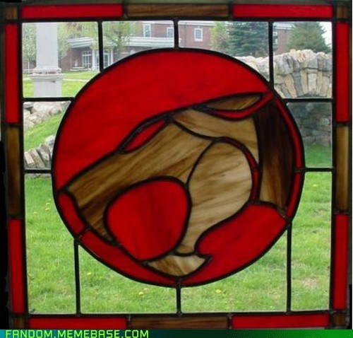 cartoons Fan Art stained glass thundercats - 5958436864