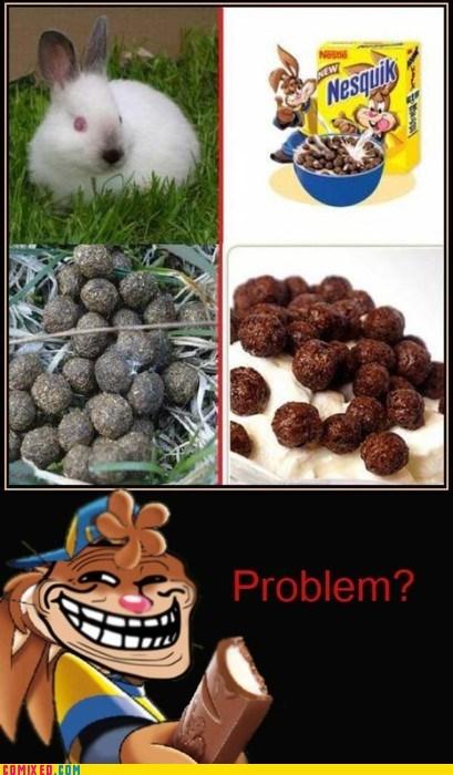 best of week breakfast cereal nesquik poo rabbit the internets - 5959142400