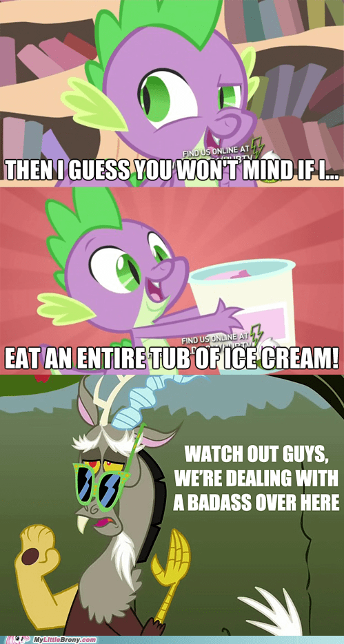 Badass comics discord dragon ice cream spike - 5959184896