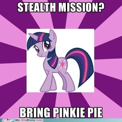 meme pinkie pie stealth twilight sparkle - 5960631040