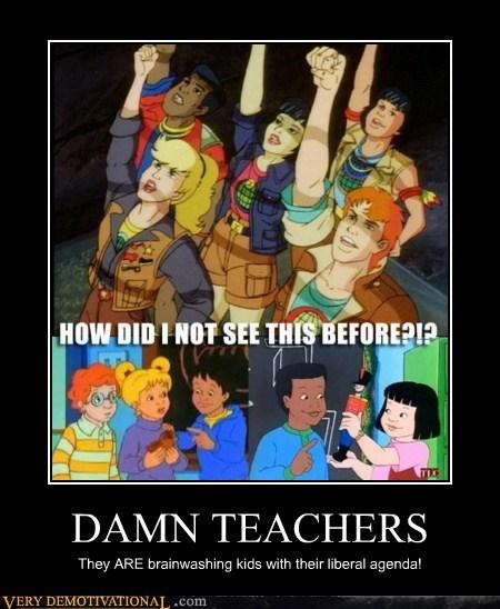 captain planet hilarious magic school bus teachers - 5960952576