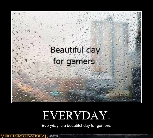 beautiful gamers hilarious rain