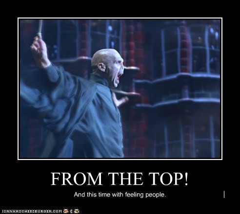 conducting feeling Harry Potter Music ralph fiennes top voldemort