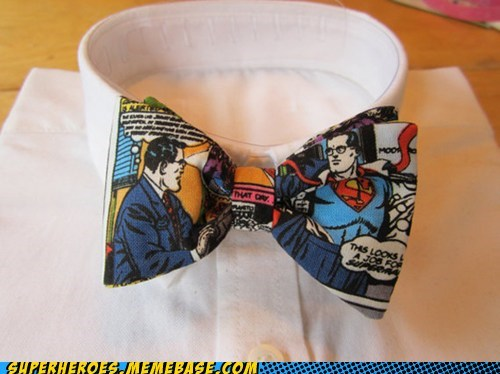 bow tie Clark Kent clothes Random Heroics superman - 5961804288