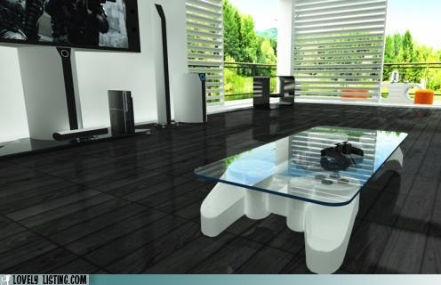 coffee table,gaming,ps3,video games