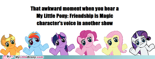 bits meme my little pony that awkward moment voice acting - 5962179584