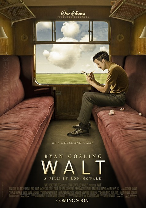 movie poster Pascal Witaszek Ryan Gosling Walt