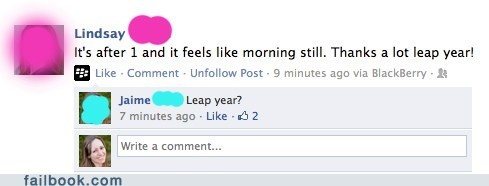 daylight savings,leap year,math is hard