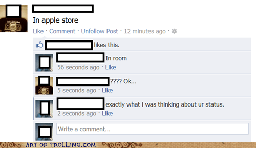 apple store facebook observations status - 5963099136
