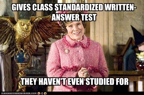 Delores Umbridge Harry Potter imelda staunton standardized test studied troll - 5963410432