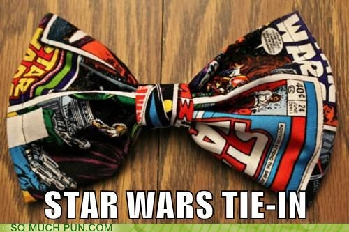 double meaning literalism star wars tie - 5963935232