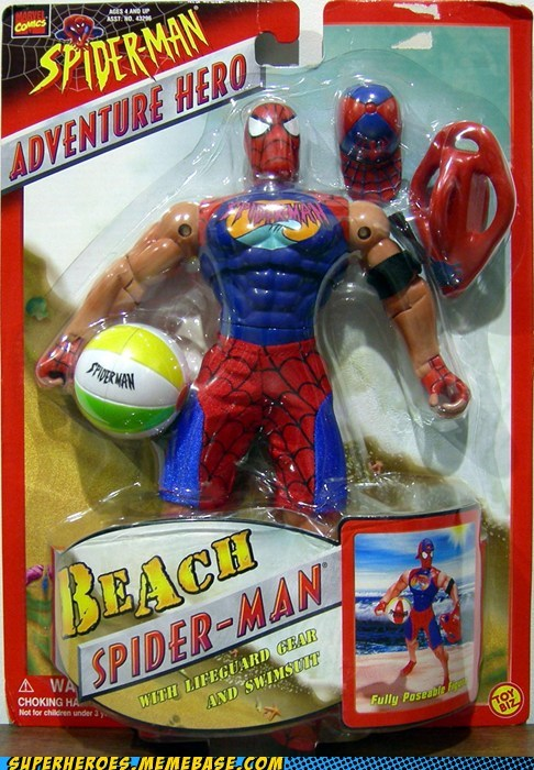 beach Random Heroics Spider-Man toy - 5964005888