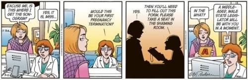 Abortion Debate Comic Strip Controversy Doonesbury Garry Trudeau - 5964463360