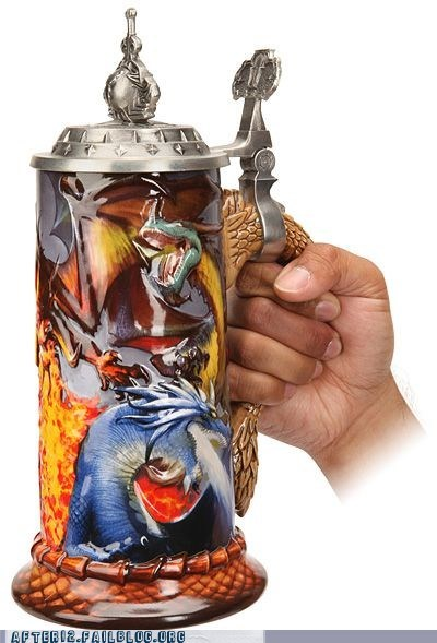 mug nerdgasm power goblet stein world of warcraft WoW - 5964683520