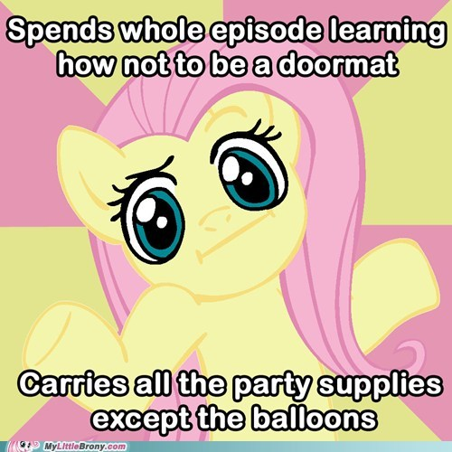 doormat fluttershy meme party supplies - 5964728576