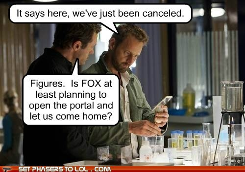 canceled fox home malcolm wallace open Portal rod hallett terra nova