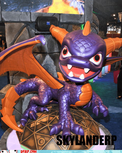 derp,skylanders,spyro,video game