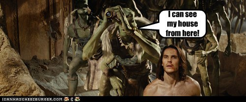 house,John Carter,movies,spyglass,taylor kitsch