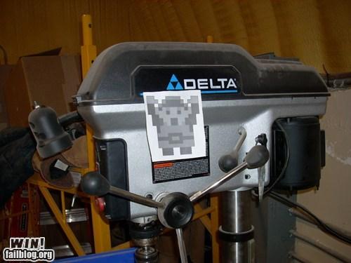 boat hacked irl motor nerdgasm triforce zelda - 5965959936