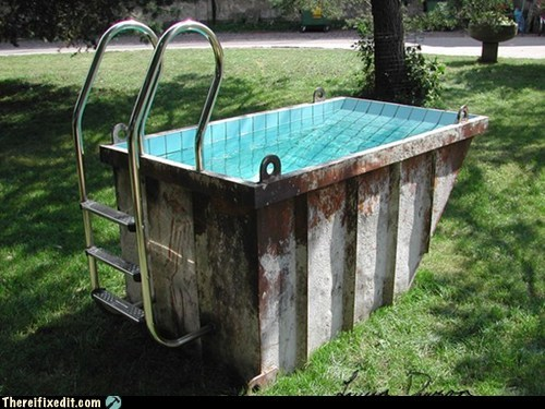 dumpster Hall of Fame pool trash - 5965964800