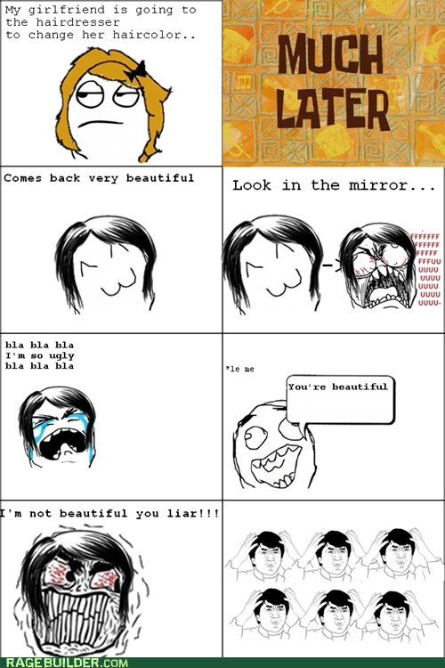 hair Jackie Chan Rage Comics relationships women wtf - 5966228992
