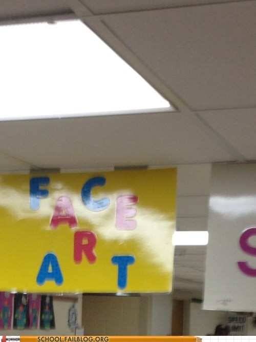 face fart,fart jokes,school carnival sign