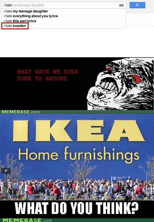 hate ikea raisins-super-fuuuu Sweden - 5966490368