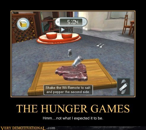 cooking mama food hilarious hunger games video games