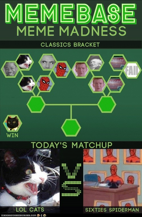 60s spider-man contest lolcats meme madness Spider-Man versus - 5966976000