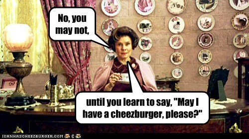 Cats Delores Umbridge Harry Potter I Can Has Cheezburger imelda staunton may - 5966978048
