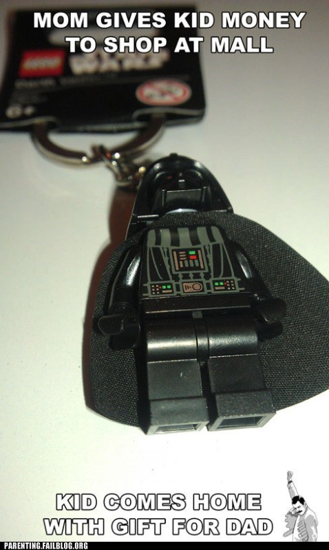 darth vader Hall of Fame Keychain lego - 5967278336