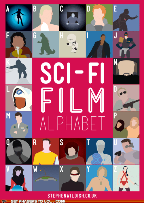 alphabet art challenge films guess sci fi stephen wildish - 5967430400