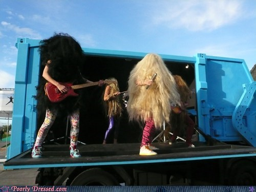 band cousin it Grizzlor group hairy he man Music