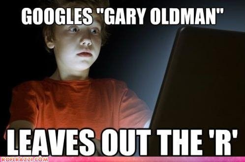 funny Gary Oldman meme