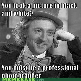 artist,black and white,Memes,pro,Willy Wonka