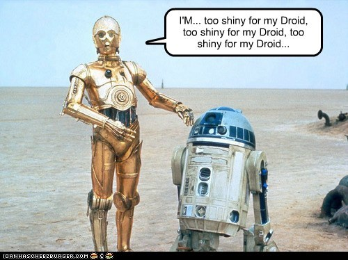 c3p0,im-too-sexy,r2d2,right said fred,shiny,star wars