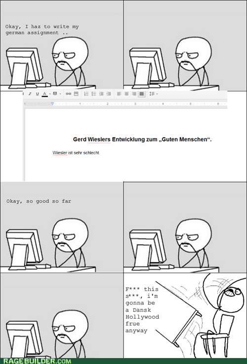 homework Rage Comics table flip truancy story - 5967903744