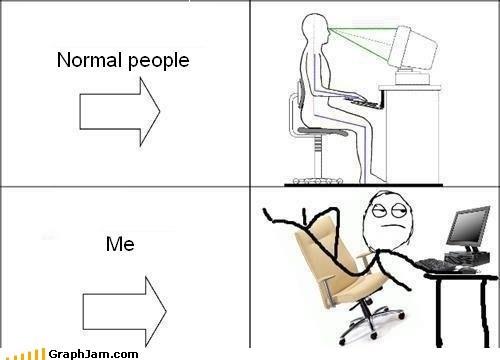 computer posture sitting - 5967925504