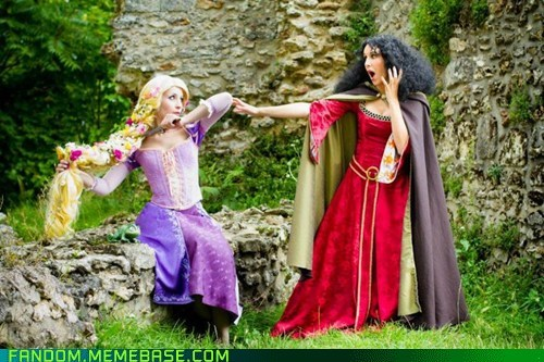 cosplay disney rapunzel tangled - 5967963392