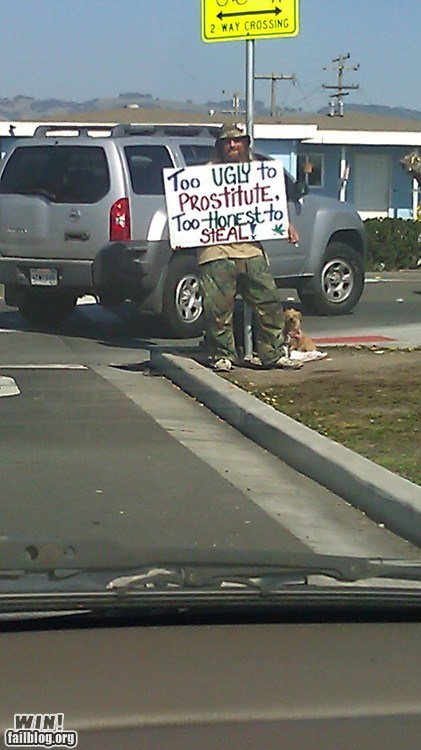 homeless,honesty,sign,true facts