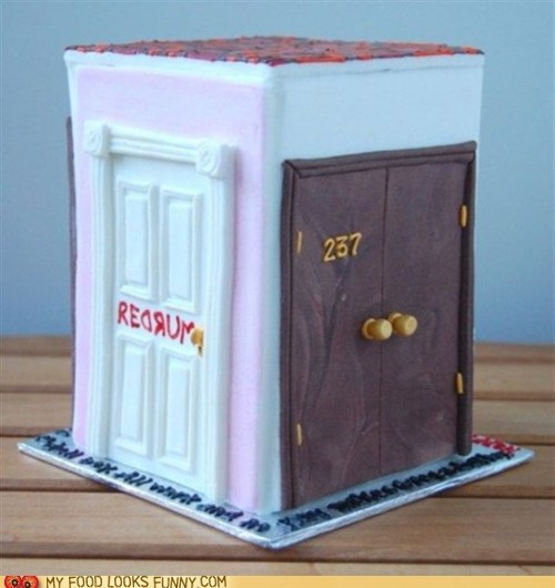 237 cake doors redrum scary the shining