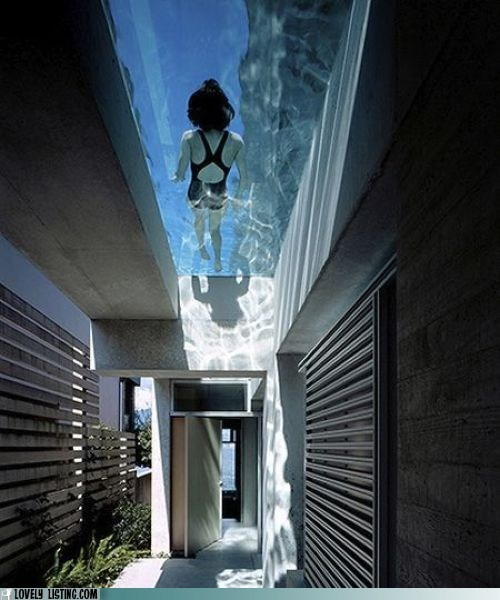 awesome,pool,roof,skylight