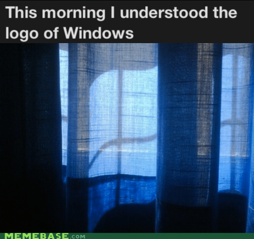 curtains,IRL,logo,microsoft,The Internet IRL,windows