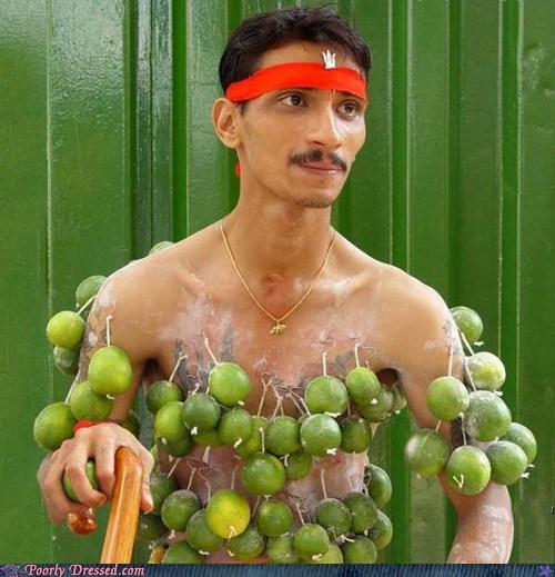 hooks,lemons,limes,malaysia,piercings,singapore,thaipusam