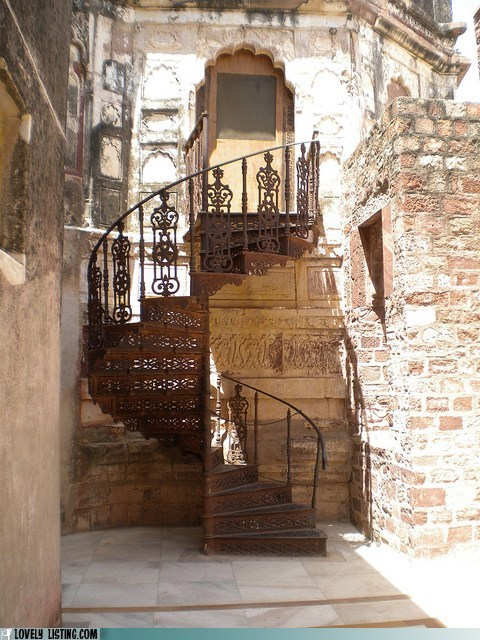 front door,pretty,spiral,stairs