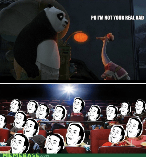 dad,Kung Fu Panda,Po,Rage Comics,you dont say