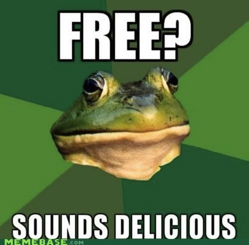 delicious food foul bachelor frog free - 5968440576