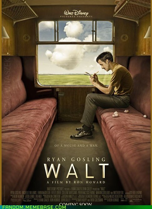 disney Fan Art Movie poster y u no real - 5968527360